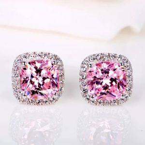 Jewelry - 🎀Stunning Pink Sapphire Earrings